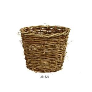 【セール品】ラタンのバスケット_D5