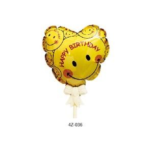 【セール品】バルーンピック_ハート_Happy Birthday